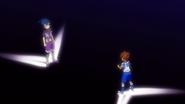 Tenma arguing with Tsurugi EP37 HQ