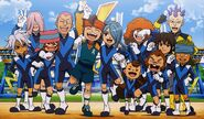 Inazuma Eleven movie ending Dark Emperors