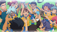 Raimon winning Holy Road! InaGO44 HQ