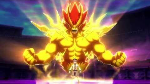 Inazuma Eleven GO VS Danball Senki W (イナズマイレブンGO vs ダンボール戦機W) Majin Great (魔神グレイト) HD