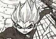 Gouenji in the manga
