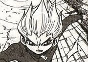 Gouenji in the manga
