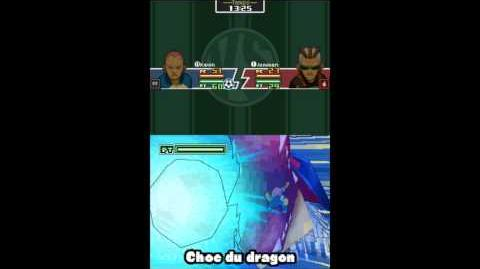 Inazuma Eleven Choc du Dragon - Jeu