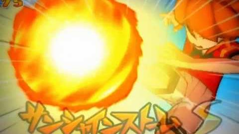 Inazuma eleven GO 2 Chrono Stone Sunshine Storm