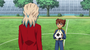 Ishido talking to Tenma