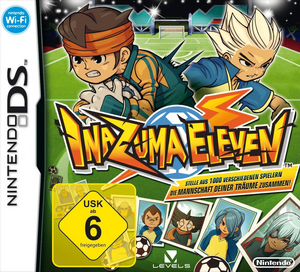 Inazuma Eleven German Game Cover