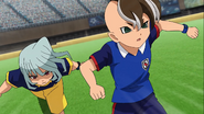 Luci Fanos chasing down Fudou