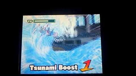 Inazuma eleven EUR tsunami boost