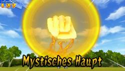 Mystisches Haupt