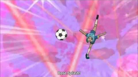 Inazuma Eleven - Rose Splash