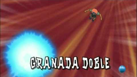 Inazuma Eleven. Granada Doble