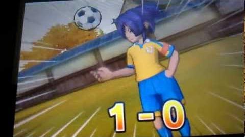 Inazuma Eleven GO Chrono Stone Raimei Kiku Ichimonji (Okita Version))