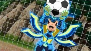 Inazuma Eleven GO Chrono Stone - Hinawa Bullet vs