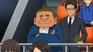 Kira Seijirou watching the match