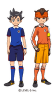 Maillots Inazuma Japan (Orion)