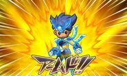 Goseishin Titanias Armed Galaxy game