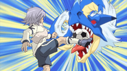 Fubuki stopping Dragon Crash IE 32 HQ