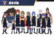 Seishou Gakuen in-game models