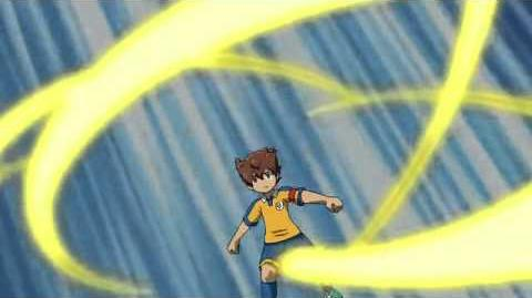 Inazuma Eleven Go Chrono Stone - Majin Pegasus Arc Armed