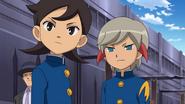 Aoyama and Ichino going to the match GO 15