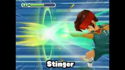The Stinger Stinger ( スティンガー ) Pugno Respingente