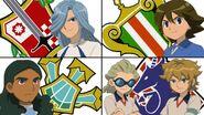 Unicorn, orpheus, empire, knights of queens