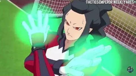 Inazuma Eleven Ares episode 18 Hissatsu Wormhole RAW SD