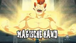 Magische Hand Anime