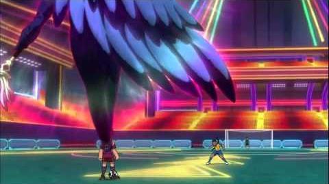 Inazuma Eleven Go keshin Genei no Daramangarasu and Dancing Ghost HD