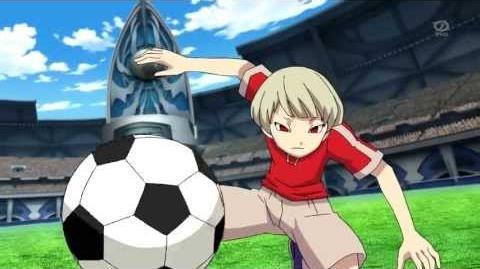Inazuma Eleven GO Galaxy - Chibashiri Kaen (地走り火炎)