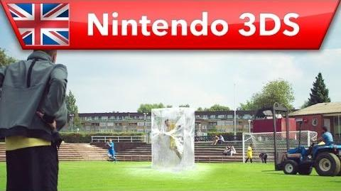 Inazuma Eleven 3 Team Ogre Attacks - 'Ice Block' TV Ad (Nintendo 3DS)