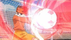 Bison Horn Vs Fuujin Raijin-Inazuma Eleven Orion no Kokuin