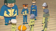 Raimon meeting with Hakuren IE 32 HQ