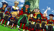 Zanark Domain appearing fully in front of Raimon (CS 24 HQ)