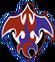 Fire dragon go emblem