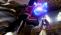 Garo and Meia fighting (CS 39 HQ)