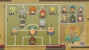 Arakumo Gakuen's formation GO 38