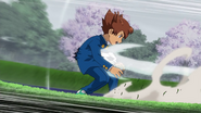Tenma hit by Tsurugi shot GO 1 HQ