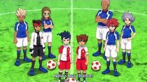 Fire Tornado DD + Inazuma Break + Last Death Zone - Inazuma Eleven GO vs Danball Senki The Movie