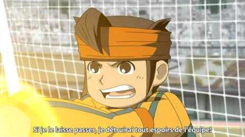 Sub French Inazuma Eleven Triple Defense