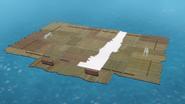 Water World Stadium's pitch-down mechanism