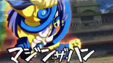 Inazuma Eleven GO - Shinsuke - Majin the Hand - (マジン・ザ・ハンド) - Mano Demoniaca-0