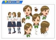 Ootani Tsukushi's design