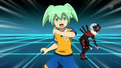 Inazuma Eleven GO Chrono Stone Defense Command 14 (Muei Ranbu) (無影乱舞) HD
