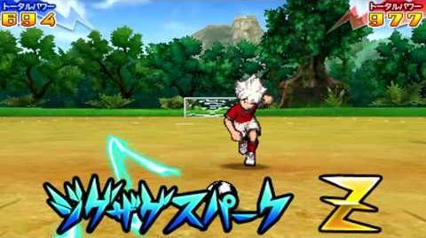 Inazuma Eleven Go 2 Chrono Stone Hissatsu ZigZag Spark