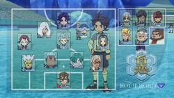 Hakuren's formation GO 26