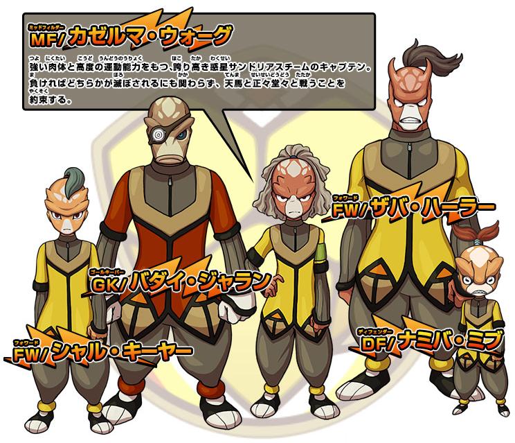 Sandorius eleven inazuma eleven wiki fandom powered by wikia - Inazuma eleven galaxy ...