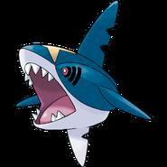 Ouvrage d'art Pokémon Sharpedo