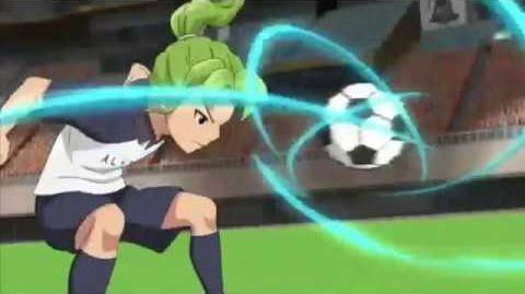 Inazuma Eleven Ares episode 18 Astro Break RAW SD