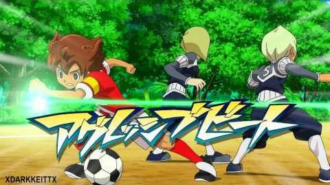 Inazuma Eleven GO Chrono Stone - Wonder Trap & Aggressive Beat HD-0